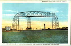 Entrance To Duluth-Superior Harbor