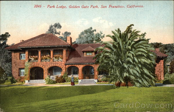 Park Lodge at Golden Gate Park San Francisco California