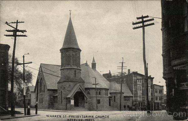 Warren Street, Presbyterian Church Roxbury Massachusetts