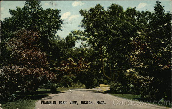 Franklin park View Boston Massachusetts