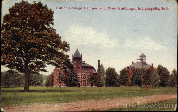 Butler College Campus and Main Buildings Indianapolis