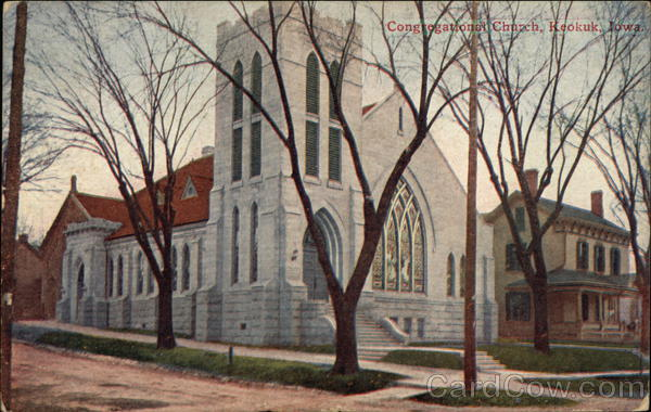 Congregational Church Keokuk Iowa