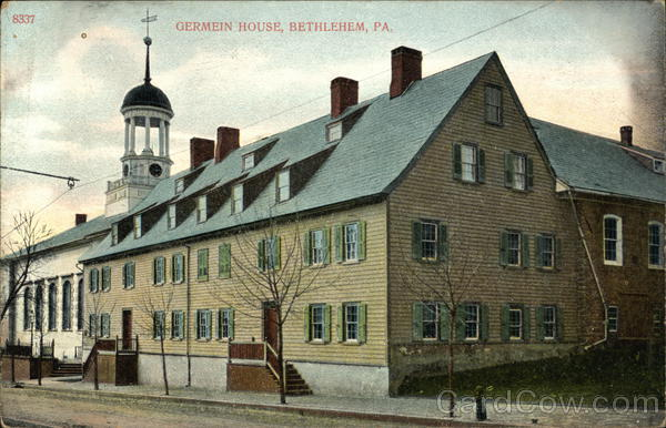 Germein House Bethlehem Pennsylvania