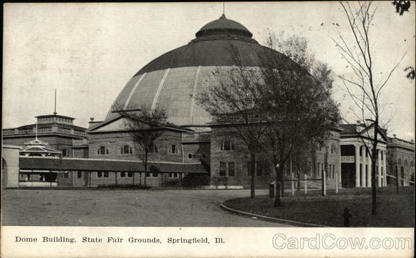 Dome Building, State Fair Grounds Springfield Illinois