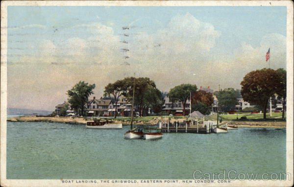 Boat Landing, The Griswold, Eastern Point New London Connecticut
