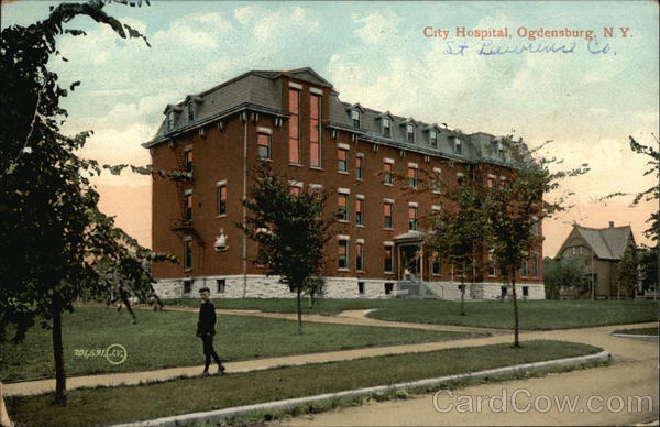 City Hospital Ogdensburg New York
