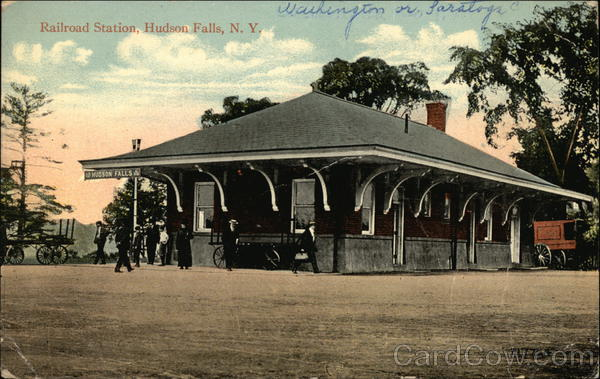 Railroad Station Hudson Falls New York