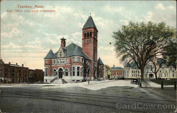 Post Office Taunton Massachusetts