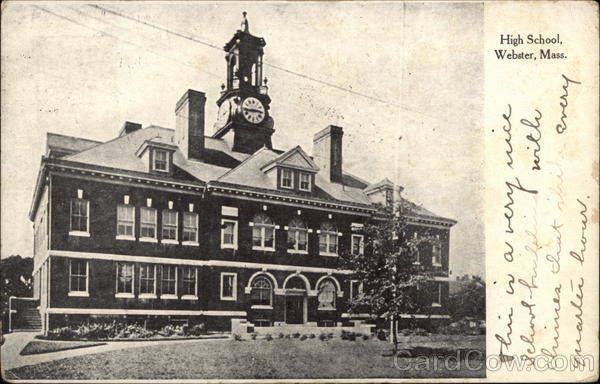 High School Webster Massachusetts