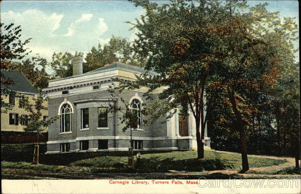 Carnegie Library Turners Falls Massachusetts