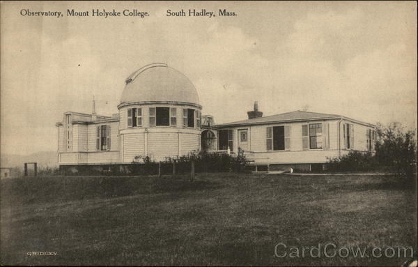 Observatory, Mount Holyoke College South Hadley Massachusetts