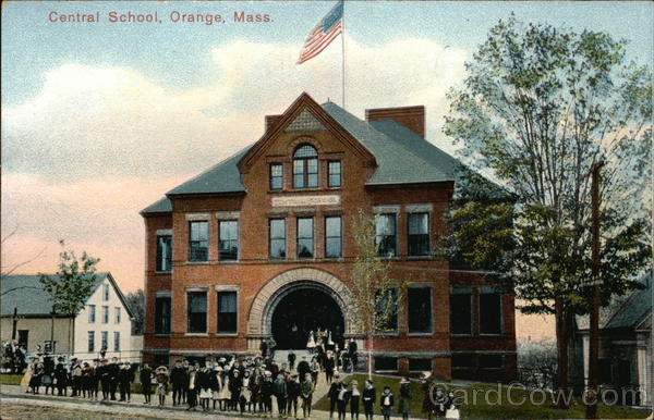 Central School Orange Massachusetts