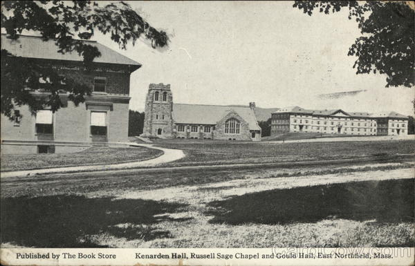Kenarden Hall, Russell Sage Chapel and Gould Hall East Northfield Massachusetts