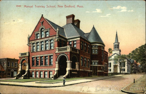 Manual Training School New Bedford Massachusetts