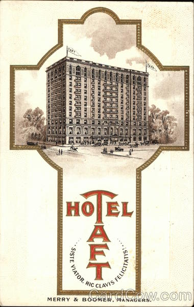 Hotel Taft Boston Massachusetts
