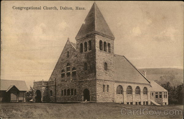 Congregational Church Dalton Massachusetts