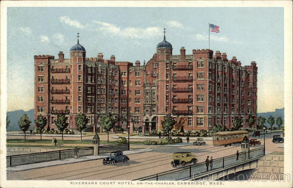 Riverbank Court Hotel - On The Charles Cambridge Massachusetts