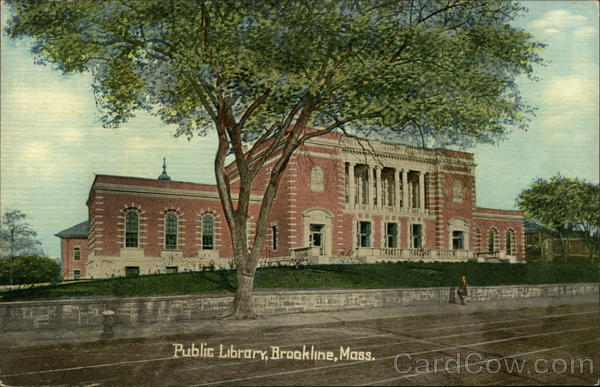 Public Library Brookline Massachusetts