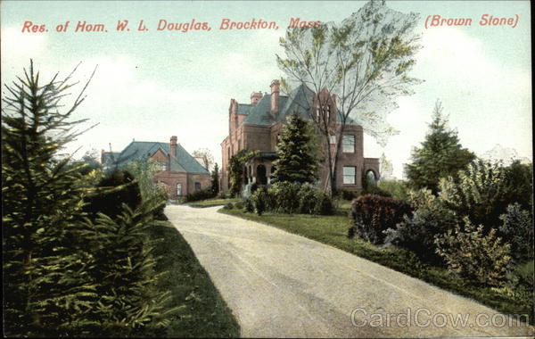 Res. of Hom. W. L. Douglas Brockton Massachusetts
