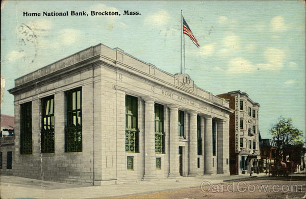 Home National Bank Brockton Massachusetts