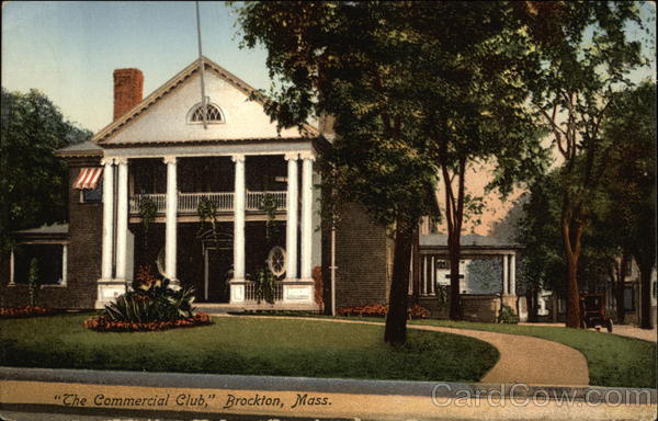 The Commercial Club Brockton Massachusetts