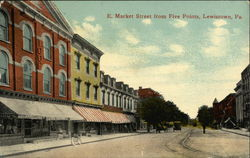 E. Market Street from Five Points