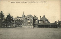 Bishops College and Chapel, from the Quod Postcard