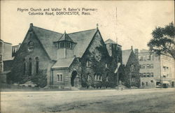 Pilgrim Church and Walker N. Baker's Pharmacy, Columbia Road