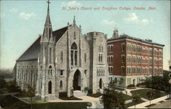 St. John's Church and Creighton College
