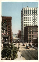 Griswold Street, South from Michigan Avenue