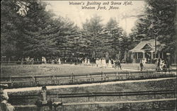 Women's Building and Dance Hall, Whalom Park Postcard