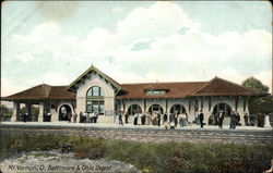 Mt. Vernon, O. Baltimore & Ohio Depot