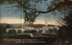 University of California, Berkeley - Buildings and Campanile