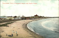Panoramic View of Nantasket Beach from Pacific House
