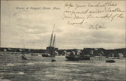 Wrecks at Vineyard Haven