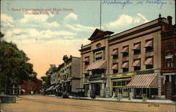 Hotel Cunningham and Main Street Postcard