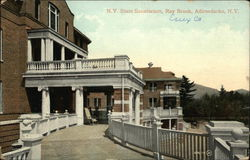 N.Y. State Sanatorium, Ray Brook