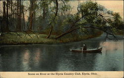 Scene On The River At The Elyria Country Club