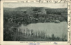 Bird's Eye View of Cooperstown, NY