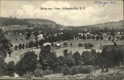 Birds-eye View of Gilbertsville, NY
