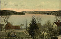Bird's Eye View, Merrimac River, Point Shore