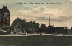 Old Fort and Fountain, Central Hill Park