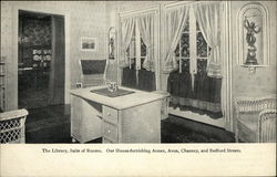 The Library, Suite of Rooms, Jordan Marsh Company