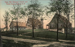 Town Hall, Episcopal Church and Parish House