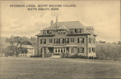 Peterson Lodge, Mount Holyoke College