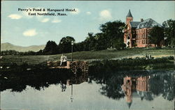 Perry's Pond and Marquard Hotel
