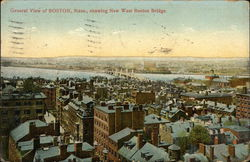 General View of Boston, showing New West Boston Bridge