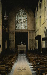 Interior Chapel, Groton School