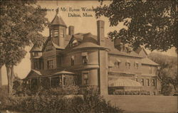 Residence of Mr. Byron Weston