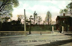 Entrance to Naval Hospital
